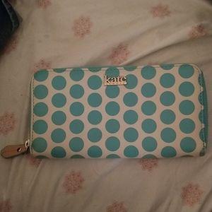 Kate laundry polkadot wallet